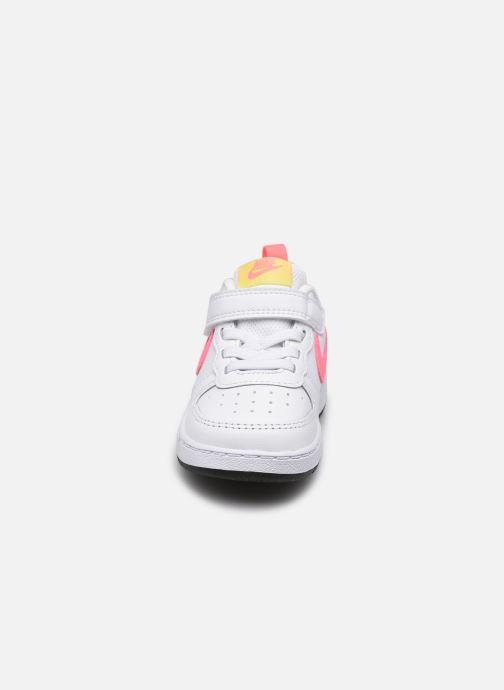 Sneaker Nike Nike Court Borough Low 2 (Tdv) weiß schuhe getragen