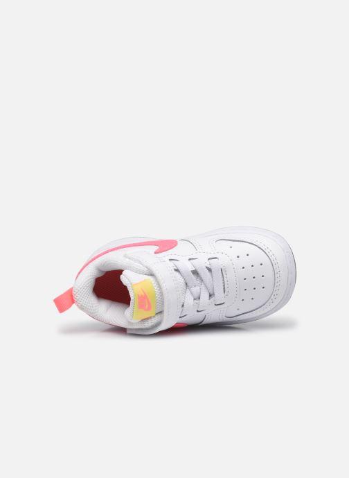 Sneaker Nike Nike Court Borough Low 2 (Tdv) weiß ansicht von links
