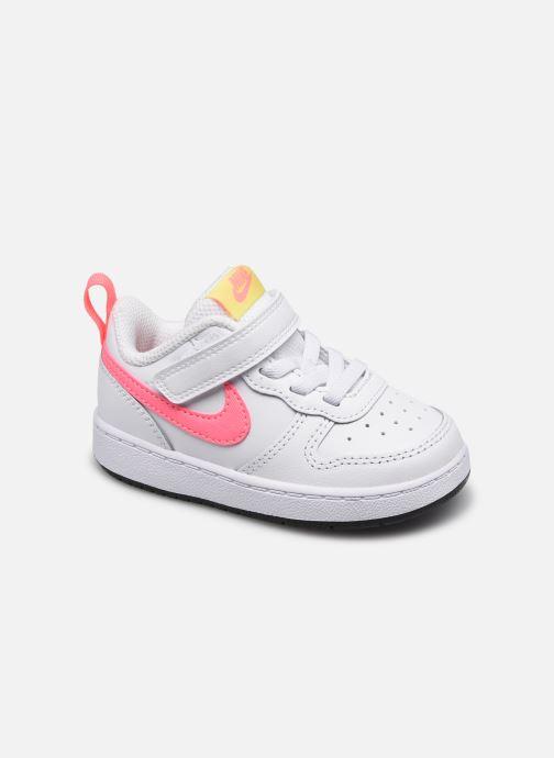 Sneaker Nike Nike Court Borough Low 2 (Tdv) weiß detaillierte ansicht/modell