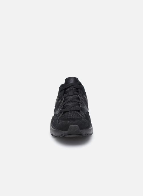 Sneaker Nike Nike Air Max Fusion (Gs) schwarz schuhe getragen