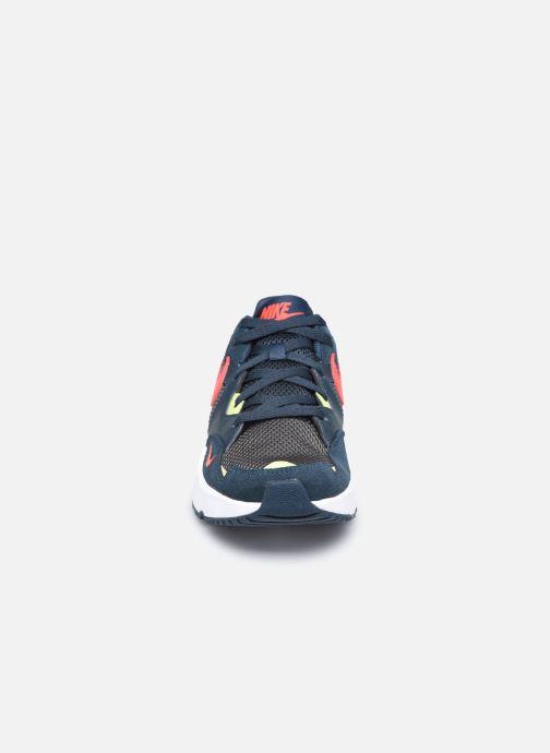 Sneaker Nike Nike Air Max Fusion (Gs) grau schuhe getragen