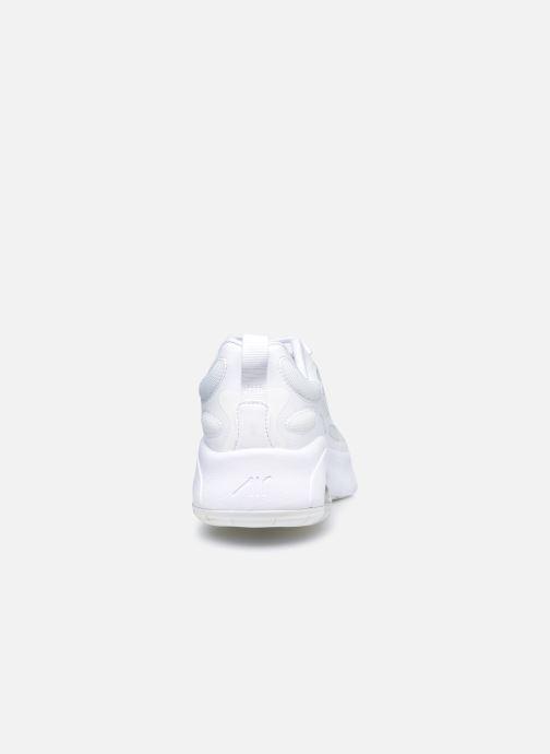 Baskets Nike Nike Air Max Exosense (Gs) Blanc vue droite