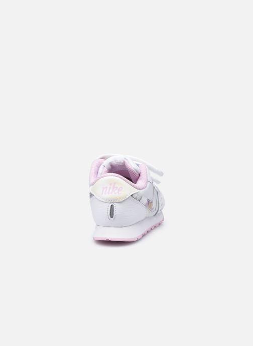 Deportivas Nike Nike Md Valiant Flrl (Tdv) Blanco vista lateral derecha