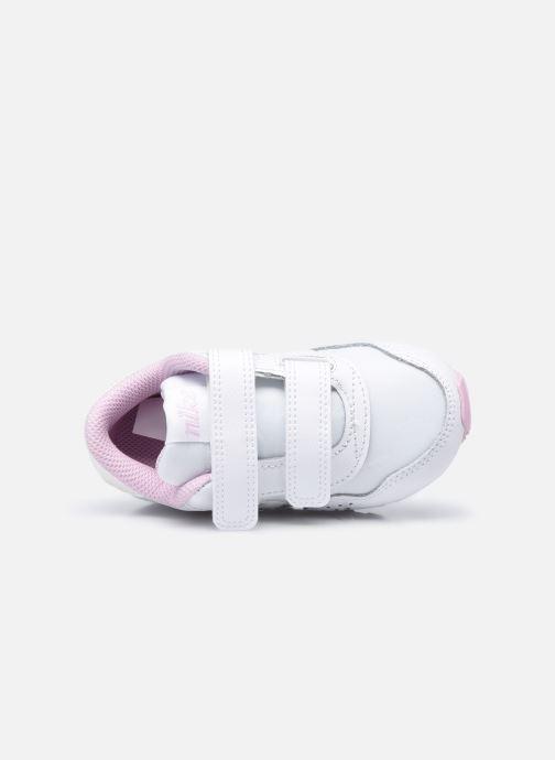 Deportivas Nike Nike Md Valiant Flrl (Tdv) Blanco vista lateral izquierda