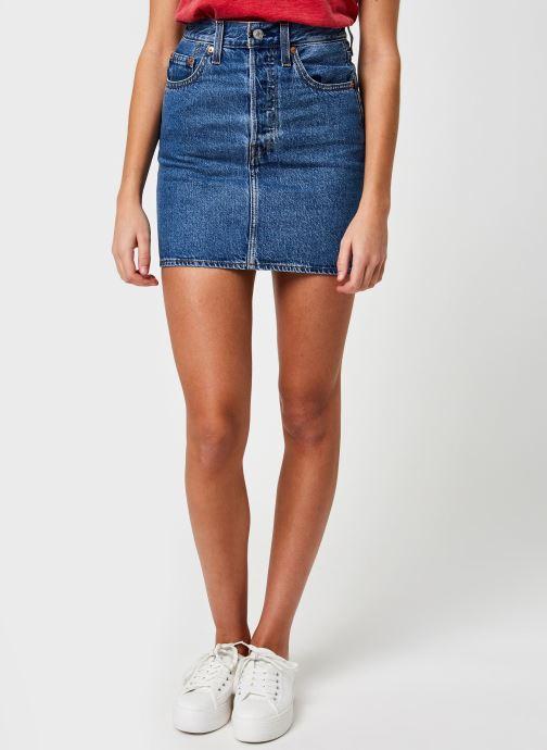 Vêtements Levi's Ribcage Skirt Bleu vue détail/paire