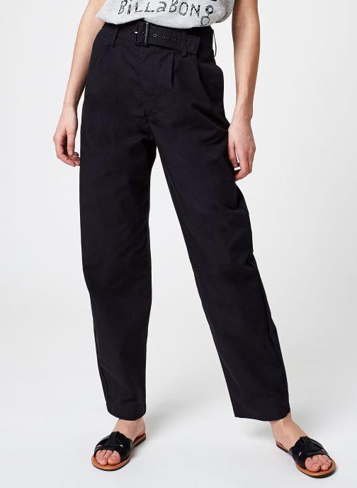 Kleding Levi's Tailor High Loose Taper Zwart detail