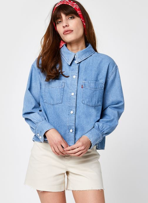 Abbigliamento Accessori Zoey Pleat Utility Shirt