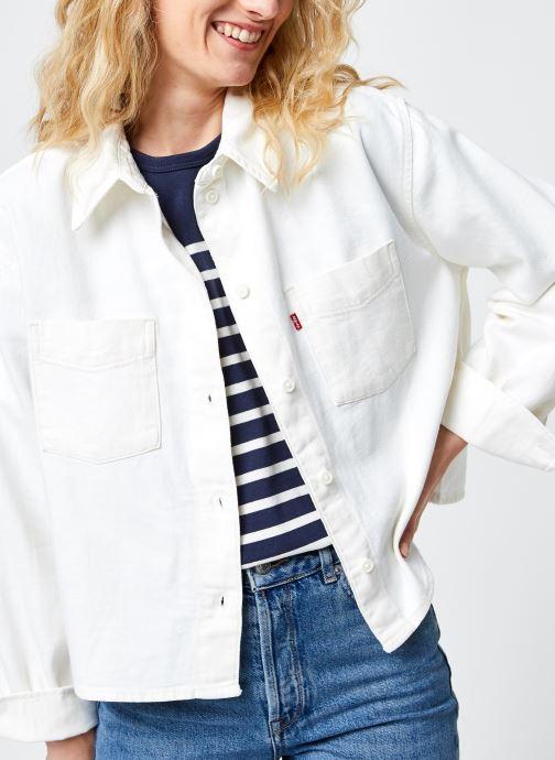 Vêtements Accessoires Zoey Pleat Utility Shirt