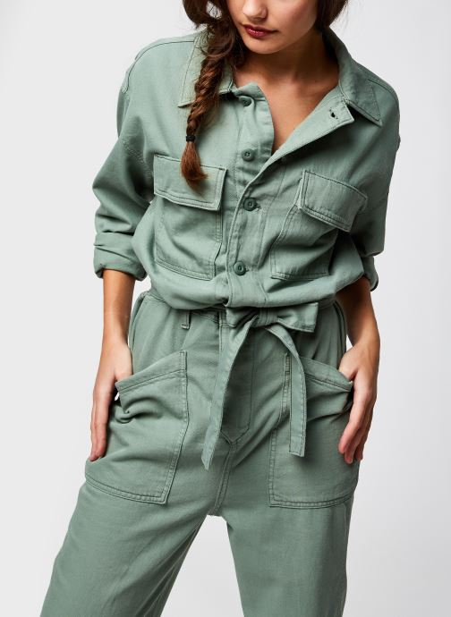 Vêtements Levi's Surplus Jumpsuit Vert vue détail/paire
