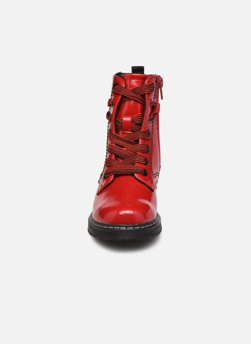 Stivaletti e tronchetti I Love Shoes SARUNO Rosso modello indossato