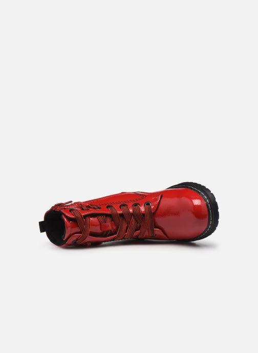 Stivaletti e tronchetti I Love Shoes SARUNO Rosso immagine sinistra