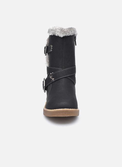 Bottes I Love Shoes SISSY Noir vue portées chaussures