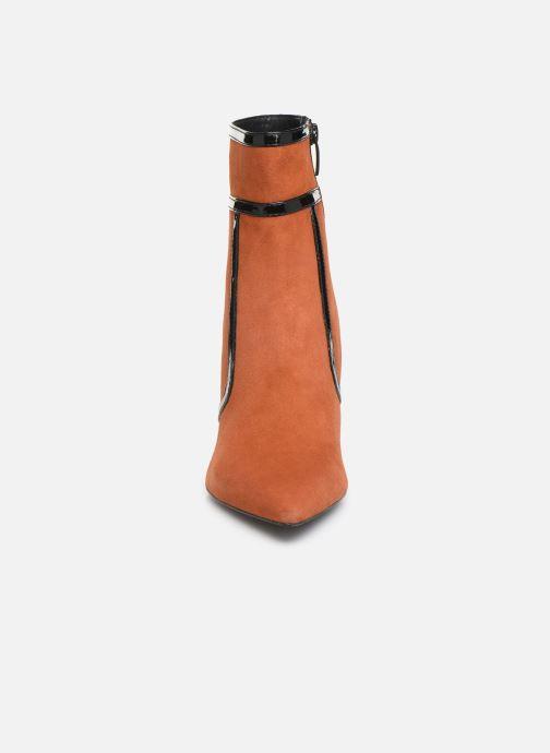 Botines  Bruno Premi BY3105X V Naranja vista del modelo