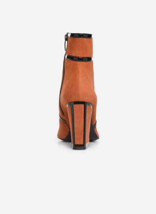 Botines  Bruno Premi BY3105X V Naranja vista lateral derecha