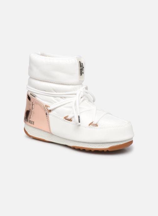 Chaussures de sport Moon Boot Moon Boot Low Aspen Blanc vue détail/paire