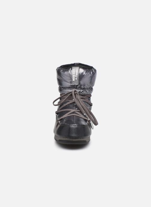 Chaussures de sport Moon Boot Moon Boot Low ST.Moritz Argent vue portées chaussures
