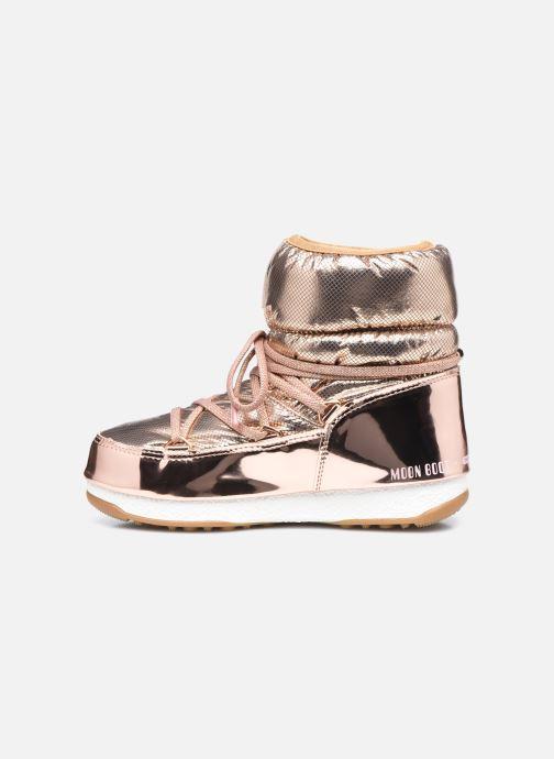 Chaussures de sport Moon Boot Moon Boot Low ST.Moritz Or et bronze vue face