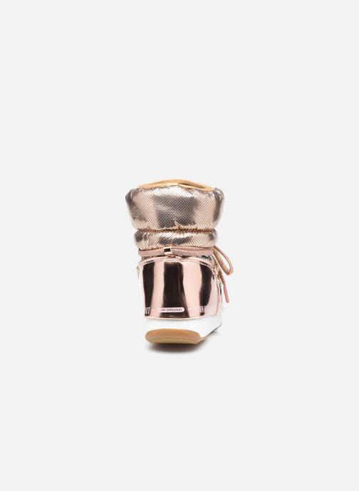 Chaussures de sport Moon Boot Moon Boot Low ST.Moritz Or et bronze vue droite