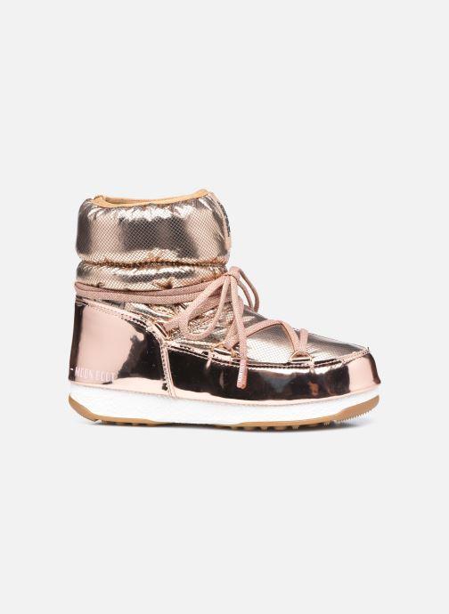 Chaussures de sport Moon Boot Moon Boot Low ST.Moritz Or et bronze vue derrière