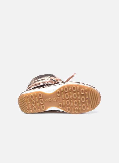 Chaussures de sport Moon Boot Moon Boot Low ST.Moritz Or et bronze vue haut