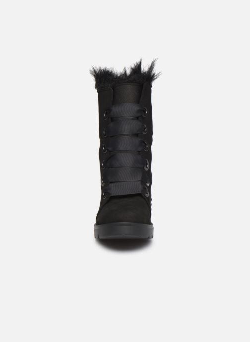 Bottes L37 Black Rider Fur Noir vue portées chaussures