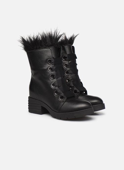 Bottes L37 Black Rider Fur Noir vue 3/4