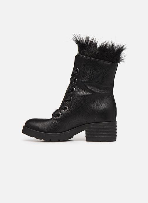 Bottes L37 Black Rider Fur Noir vue face