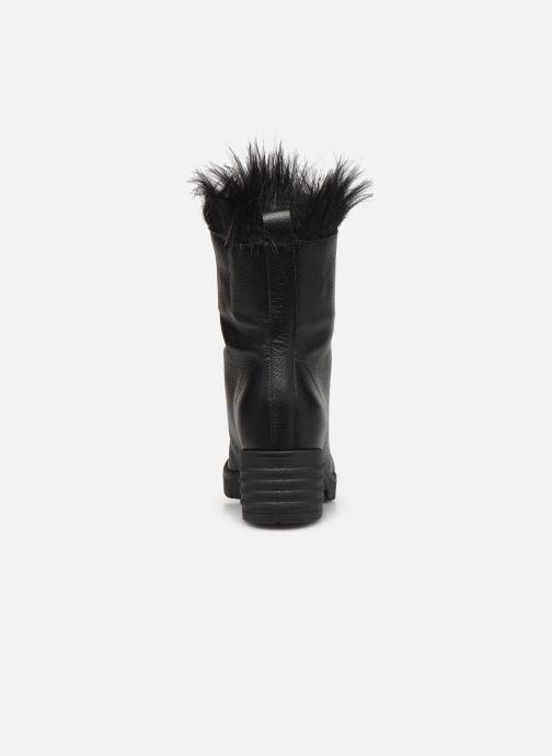 Bottes L37 Black Rider Fur Noir vue droite
