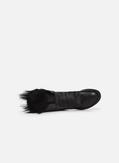 Bottes L37 Black Rider Fur Noir vue gauche