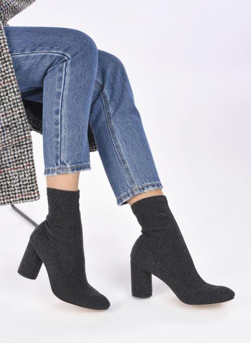 Stiefeletten & Boots L37 Lighting Queen grau ansicht von unten / tasche getragen