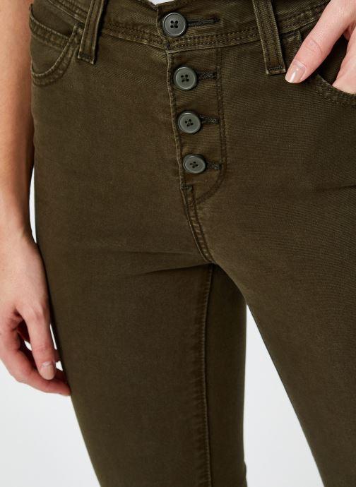 Vêtements Levi's 724 Hr Str Crop Utility Vert vue face