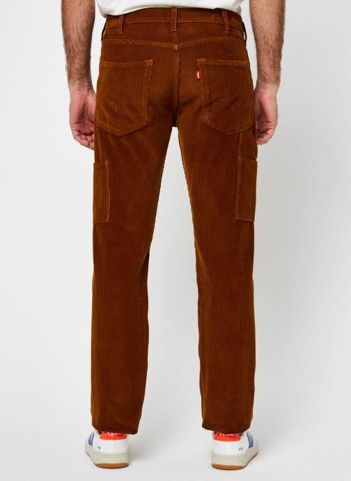 Vêtements Levi's 502™ Carpenter Pant Marron vue portées chaussures