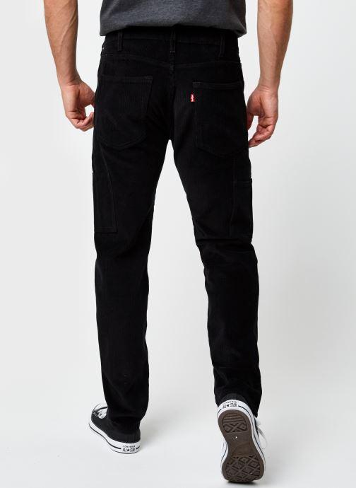 Vêtements Levi's 502™ Carpenter Pant Noir vue portées chaussures