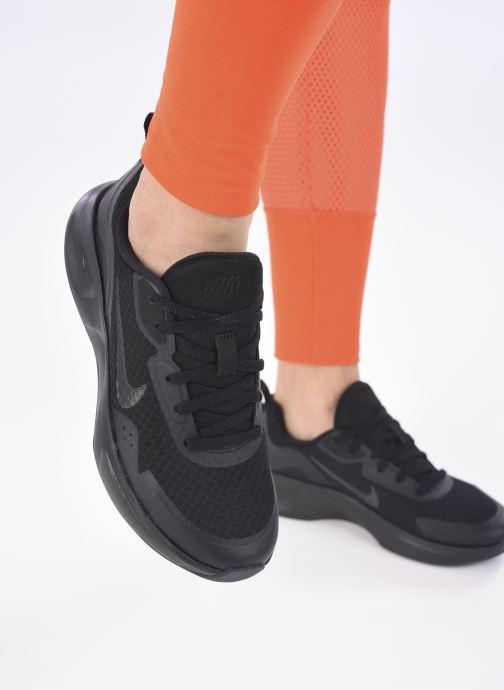 Sneakers Nike Wmns Nike Wearallday Nero immagine dal basso