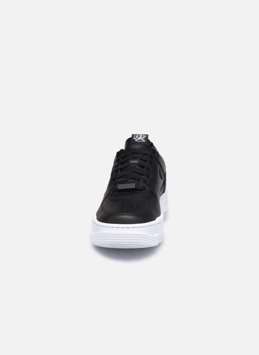Sneaker Nike W Af1 Pixel schwarz schuhe getragen