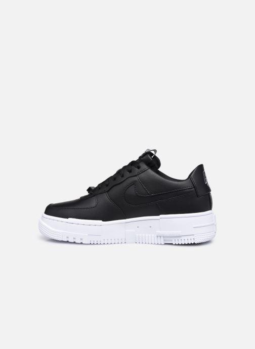 Sneaker Nike W Af1 Pixel schwarz ansicht von vorne