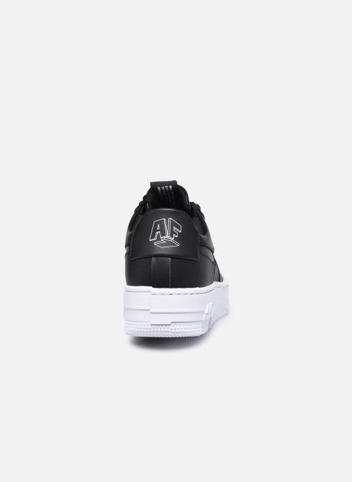 Sneaker Nike W Af1 Pixel schwarz ansicht von rechts