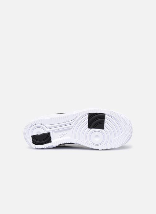 Sneaker Nike W Af1 Pixel schwarz ansicht von oben