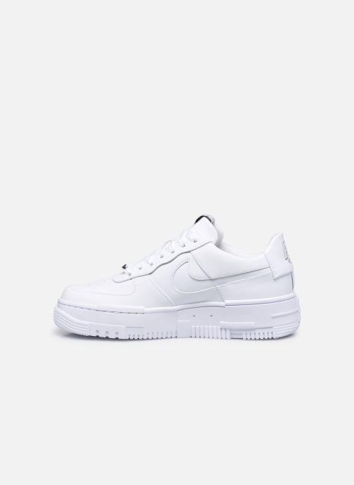 Sneaker Nike W Af1 Pixel weiß ansicht von vorne