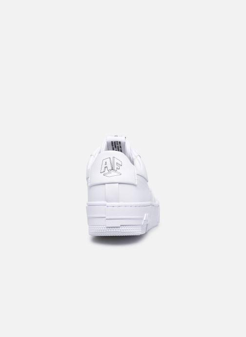 Sneaker Nike W Af1 Pixel weiß ansicht von rechts