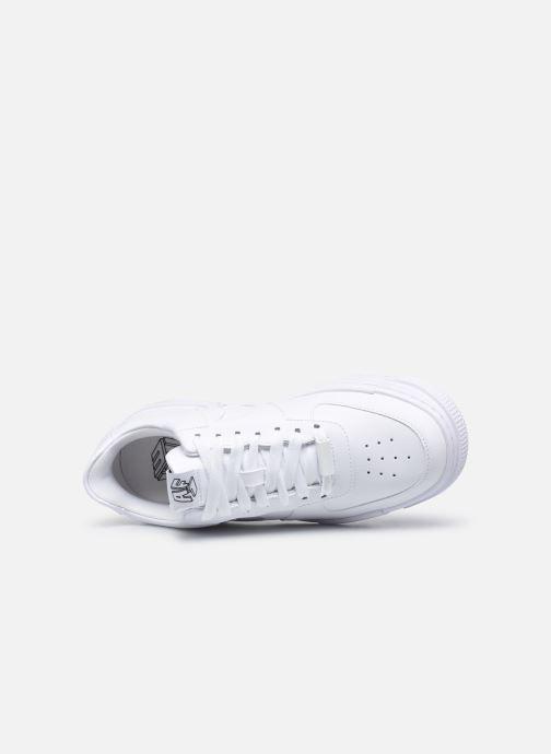Sneaker Nike W Af1 Pixel weiß ansicht von links