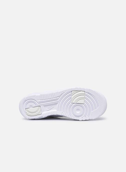Deportivas Nike W Af1 Pixel Blanco vista de arriba