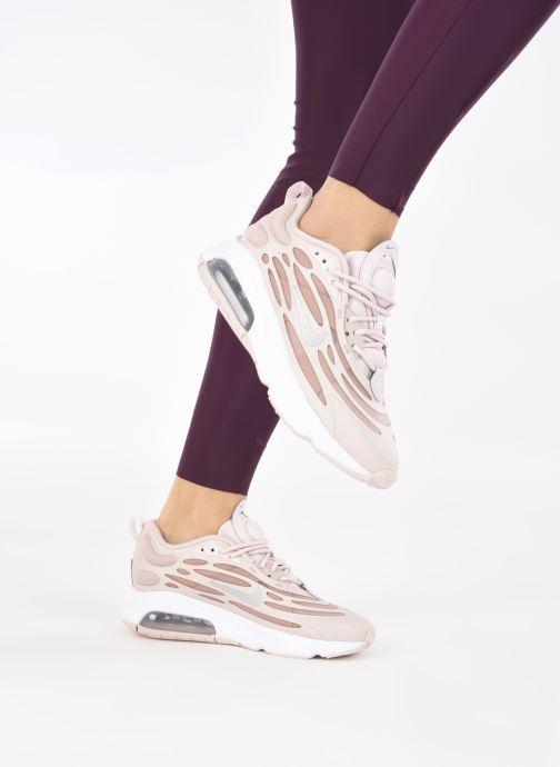 Deportivas Nike W Air Max Exosense Rosa vista de abajo