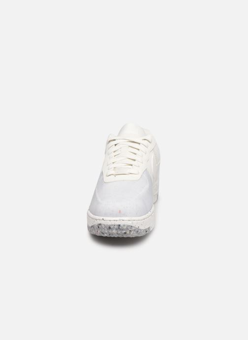 Baskets Nike W Nike Air Force 1 Crater Blanc vue portées chaussures