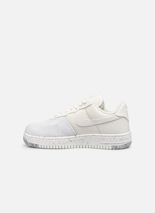 Baskets Nike W Nike Air Force 1 Crater Blanc vue face