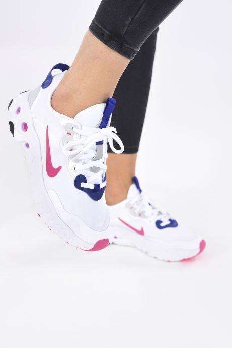 Baskets Nike Wmns Nike React Art3Mis Blanc vue bas / vue portée sac