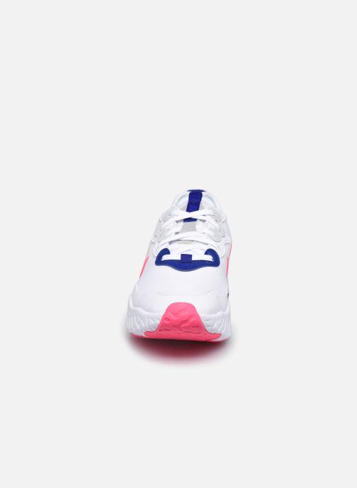 Baskets Nike Wmns Nike React Art3Mis Blanc vue portées chaussures
