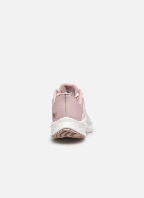 Sneaker Nike Wmns Nike Quest 3 rosa ansicht von rechts