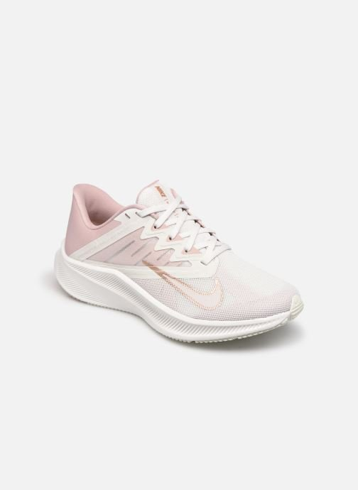 Baskets Nike Wmns Nike Quest 3 Rose vue détail/paire