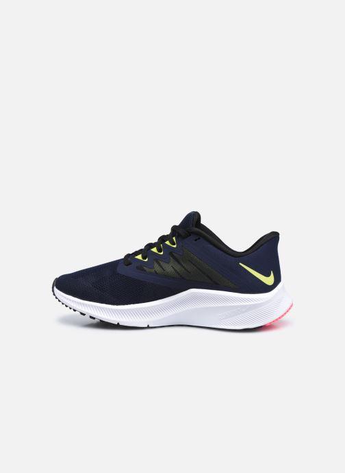 Sneakers Nike Wmns Nike Quest 3 Azzurro immagine frontale